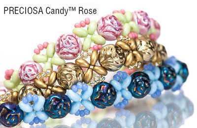 Candy Rose Bead