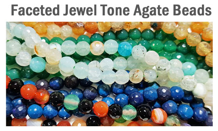 Faceted Jewel Tone